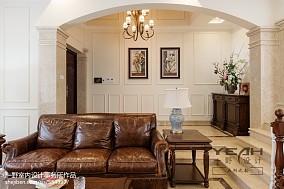 2018精选132平米美式别墅客厅装修效果图片欣赏