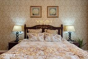 精美143平米美式别墅卧室实景图