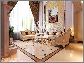 热门139平米欧式复式客厅实景图片大全