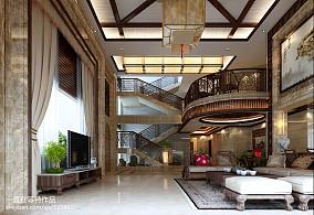 热门面积123平别墅客厅新古典装修欣赏图
