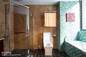 精美中式别墅卫生间装饰图片