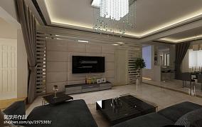精美面积84平小户型客厅现代欣赏图