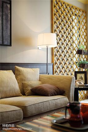 精选112平米混搭复式客厅设计效果图