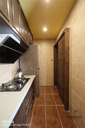 精选113平米混搭复式厨房实景图