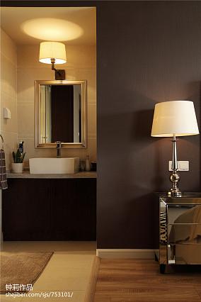 精选面积137平现代四居卧室装修设计效果图片欣赏