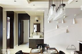 典雅130平现代四居设计效果图