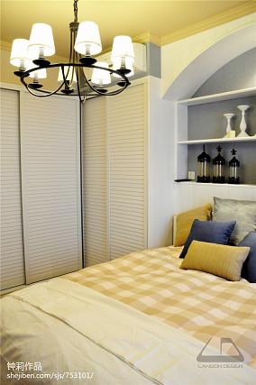 精美109平米三居卧室混搭实景图
