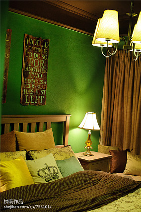热门77平米二居卧室混搭装饰图片
