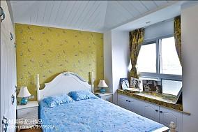 精选面积113平复式卧室地中海装修实景图片欣赏
