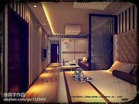 精美71平米现代小户型客厅装修实景图片大全