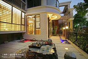 热门中式别墅阳台欣赏图片