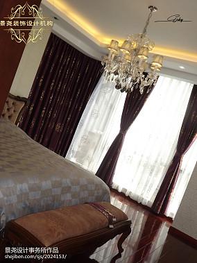 热门面积132平欧式四居卧室装修实景图片欣赏