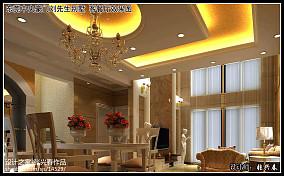 精选133平方欧式别墅餐厅装饰图片大全