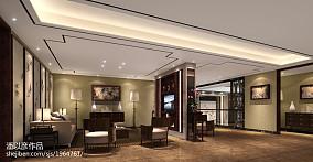 精选面积122平别墅客厅中式装修实景图