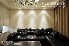 精选86平米二居客厅现代装饰图片