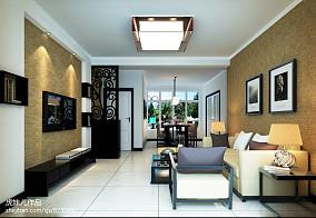 面积77平小户型客厅现代欣赏图片大全