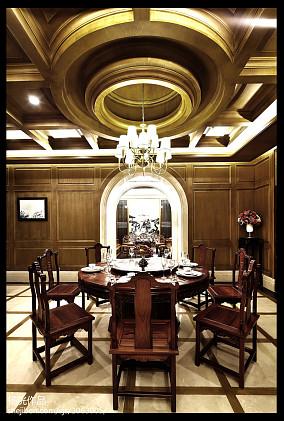 2018精选130平米欧式别墅餐厅装修效果图片