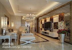 面积87平欧式二居客厅装修设计效果图