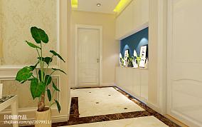精选面积83平欧式二居客厅装饰图片欣赏