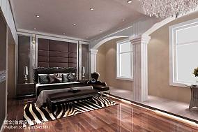 热门面积131平别墅卧室新古典装修实景图片大全