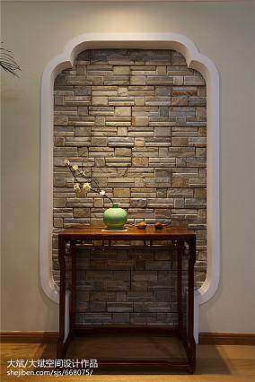 浪漫90平中式三居装修美图三居中式现代家装装修案例效果图