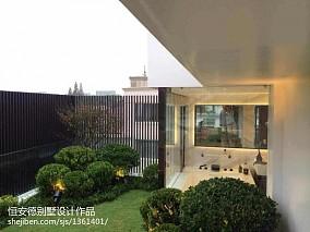 精选137平米中式别墅花园装修效果图片大全