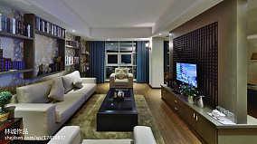 精选面积110平中式四居客厅装修图