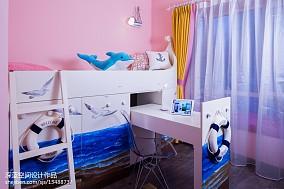 热门面积93平现代三居儿童房装修效果图