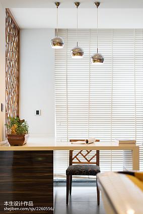 精选面积113平复式餐厅现代设计效果图
