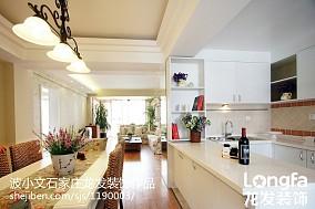 精美面积100平美式三居厨房欣赏图片大全