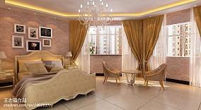 热门90平米三居卧室现代实景图片