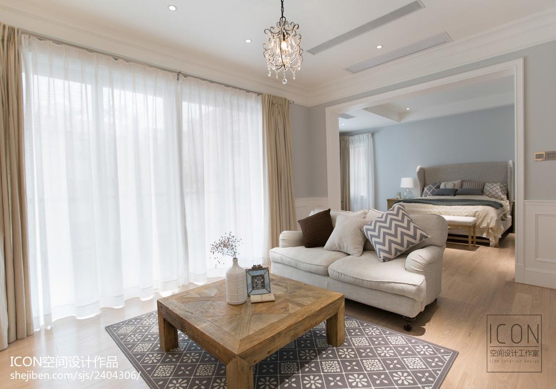 美式风格卧室前厅飘窗设计图片卧室1图美式经典卧室设计图片赏析
