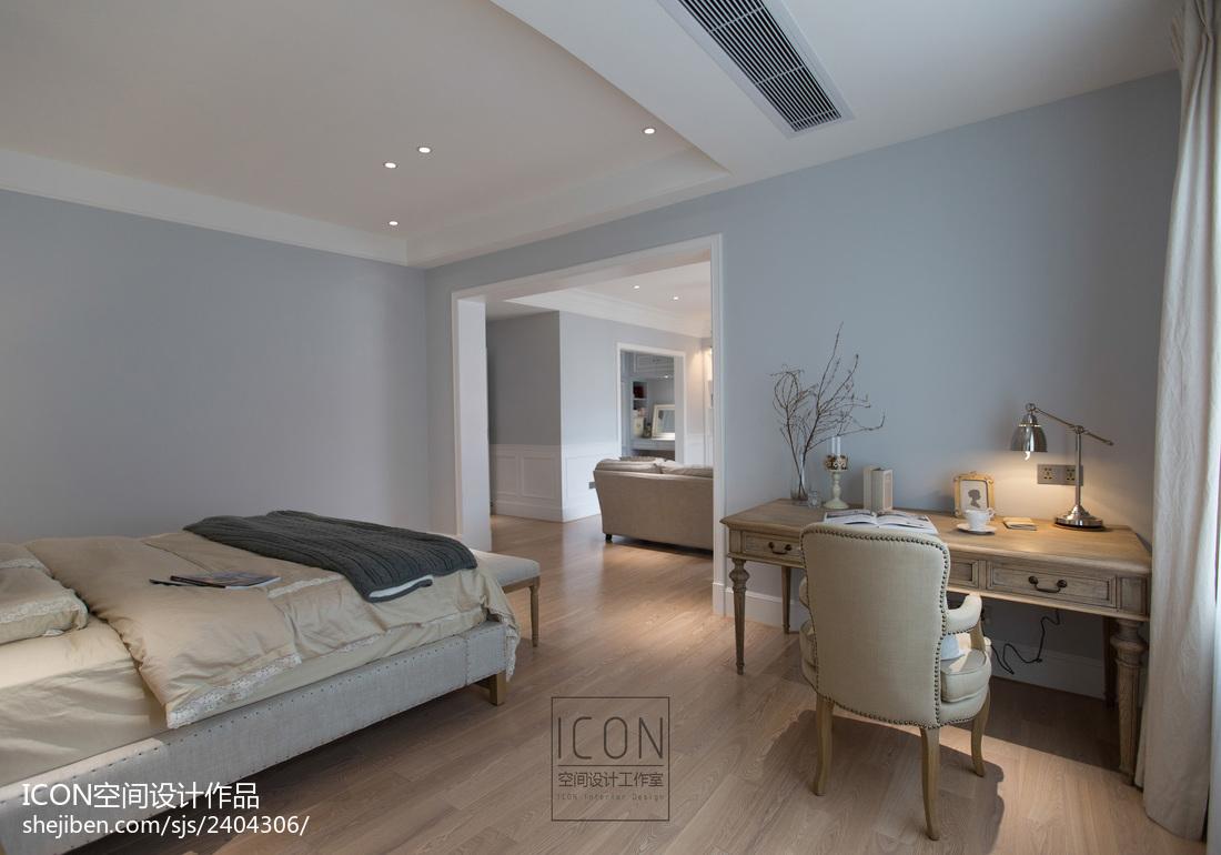 美式风格卧室书桌装修设计图片卧室美式经典卧室设计图片赏析