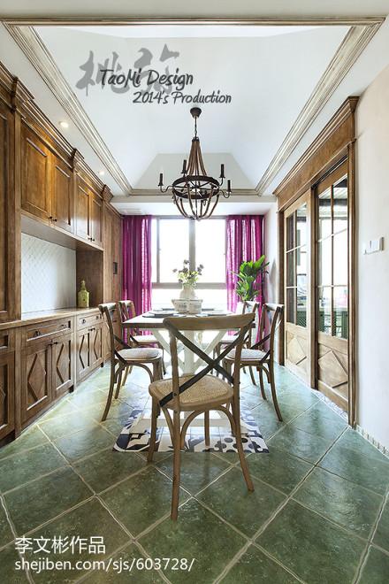 2018精选美式二居餐厅装饰图片欣赏厨房