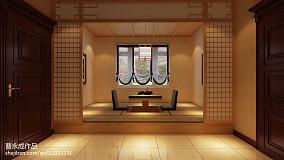 典雅767平混搭别墅休闲区布置图功能区潮流混搭设计图片赏析