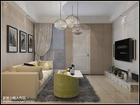 热门现代小户型客厅装饰图片欣赏