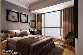 精选大小119平现代四居卧室实景图