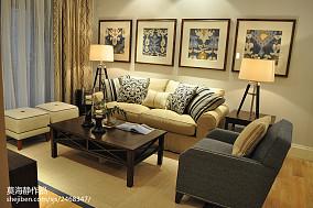 现代中式装潢设计客厅