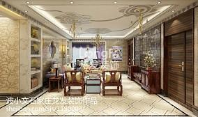 热门137平米新古典复式客厅实景图片