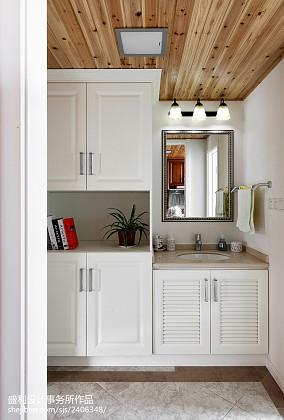 热门面积99平美式三居厨房实景图片