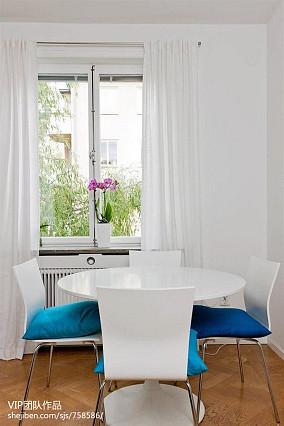 热门面积85平小户型餐厅现代装修欣赏图片