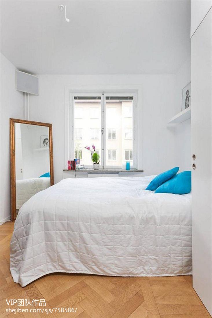 40平方小户型现代卧室装修图片