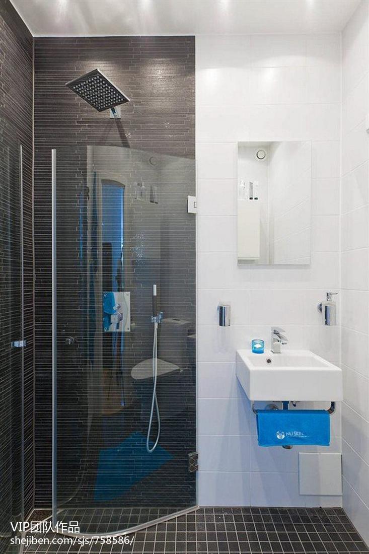 40平方小户型卫生间装修图