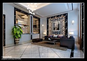 精选面积127平别墅客厅现代装修效果图片
