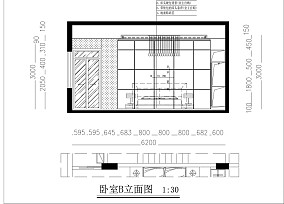 精美面积116平复式卧室现代装饰图
