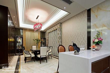 2018面积112平别墅餐厅新古典欣赏图厨房