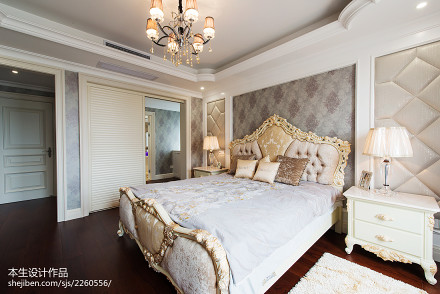 新古典卧室装修效果图片卧室