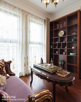 新古典书房窗户装修图片欣赏家装装修案例效果图