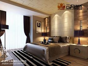 精选91平米三居卧室现代装修效果图