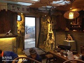 欧式田园风格室内碎花壁纸图片